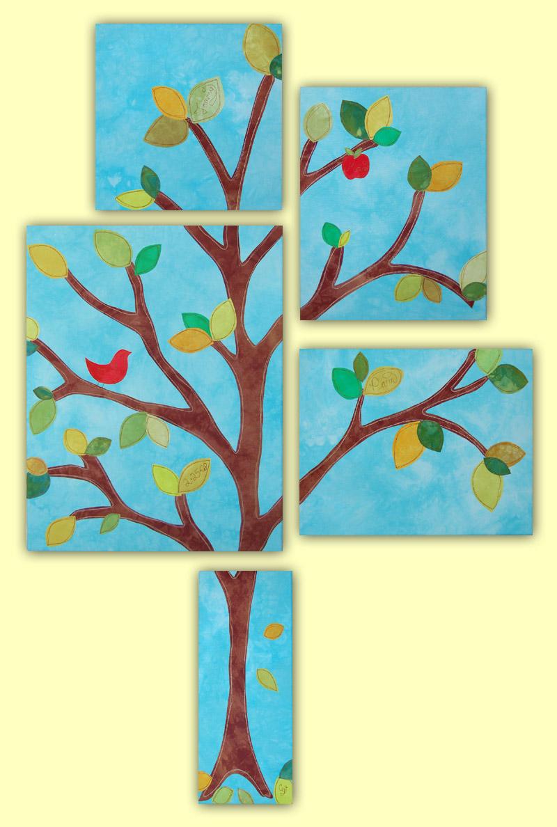 """Max Rowell Family Tree, 68"""" x 46"""""""