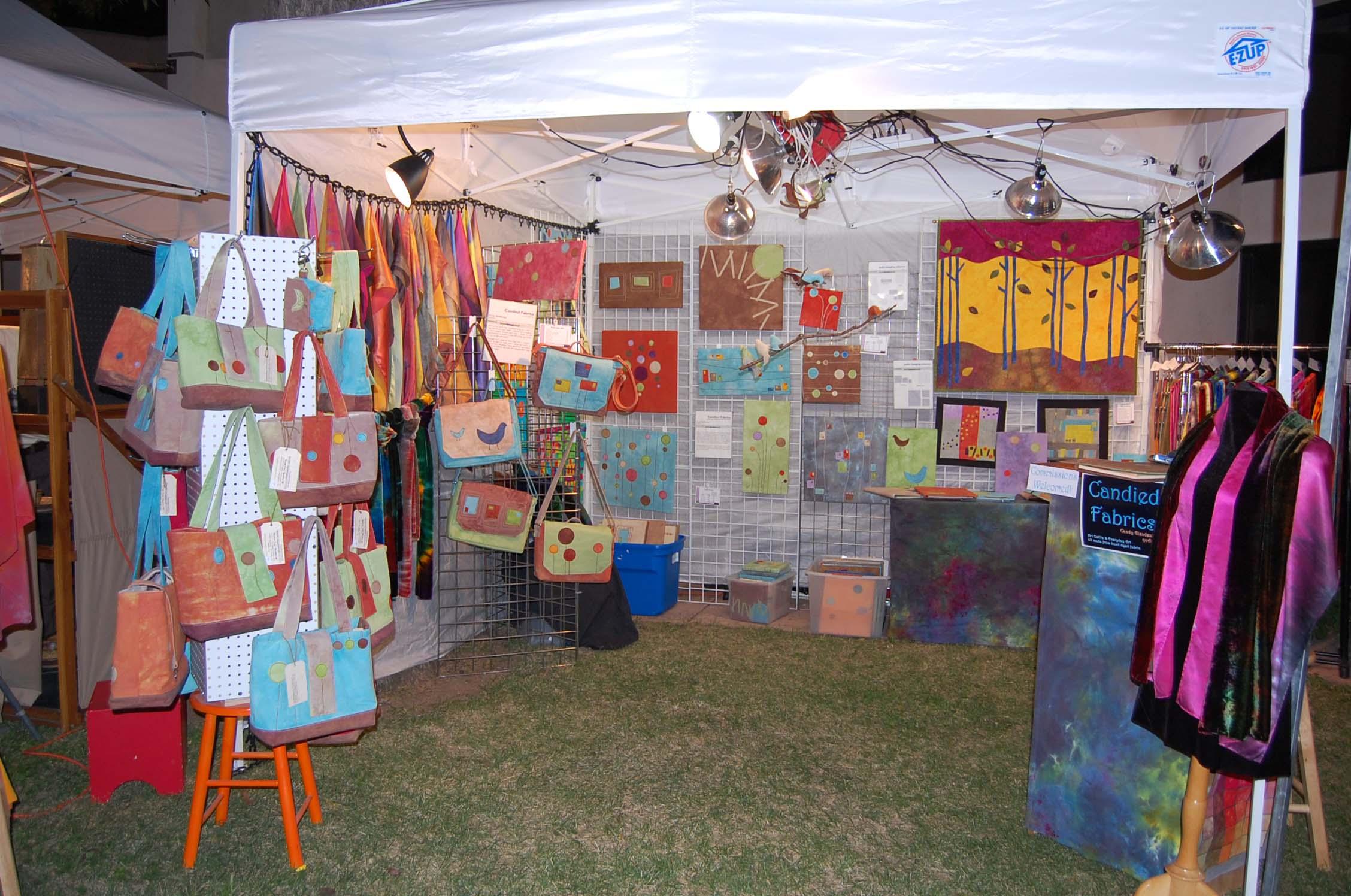Art for Heaven's Sake Booth Setup