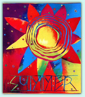 Hot Fun (Summer) 1995 Best Machine Artistry, American Quilter's Society