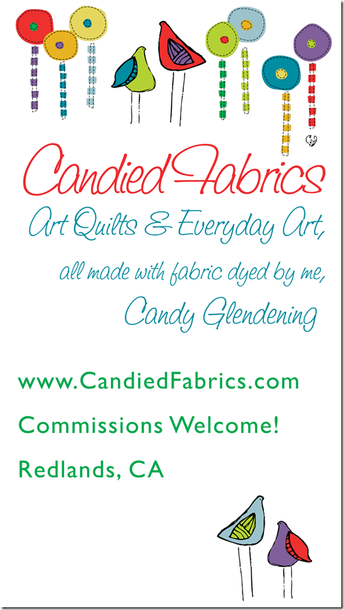 Candied Fabrics 22 by 41 Sign OUTLINES